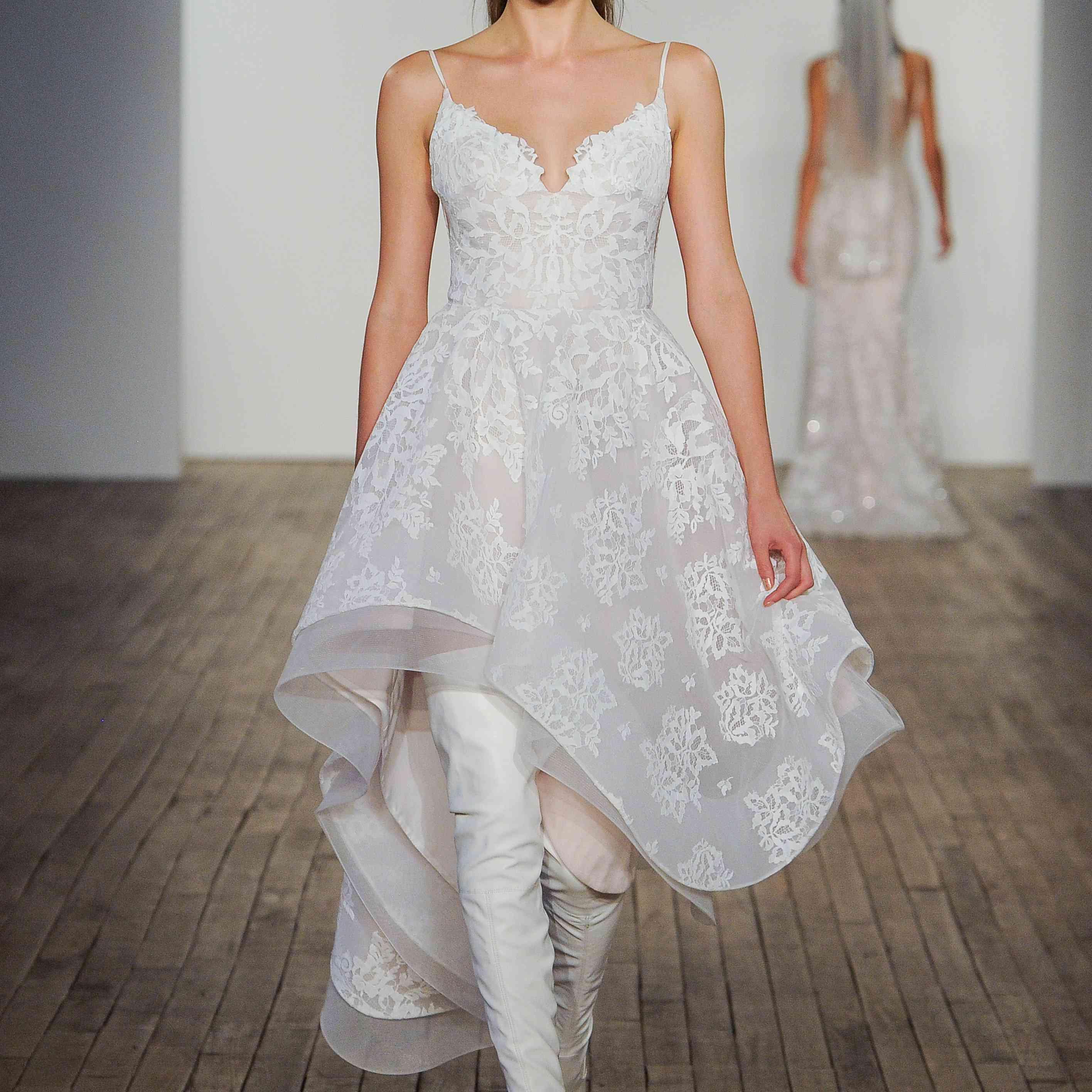 Dixie Mini Blush by Hayley Paige Wedding Dress