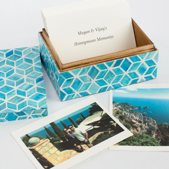 Boombox Gifts Honeymoon Memory Box