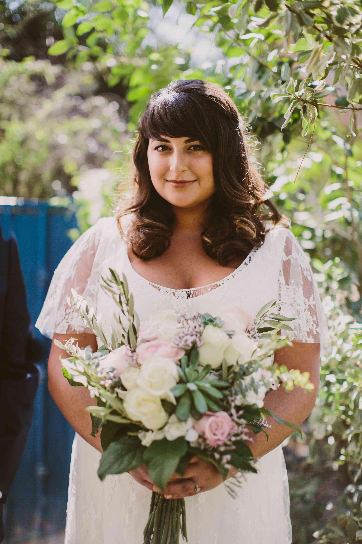 Bride in Daphne Manivet