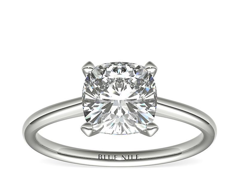 Blue Nile Solitaire Ring