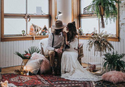 Persian Rug Wedding Trend