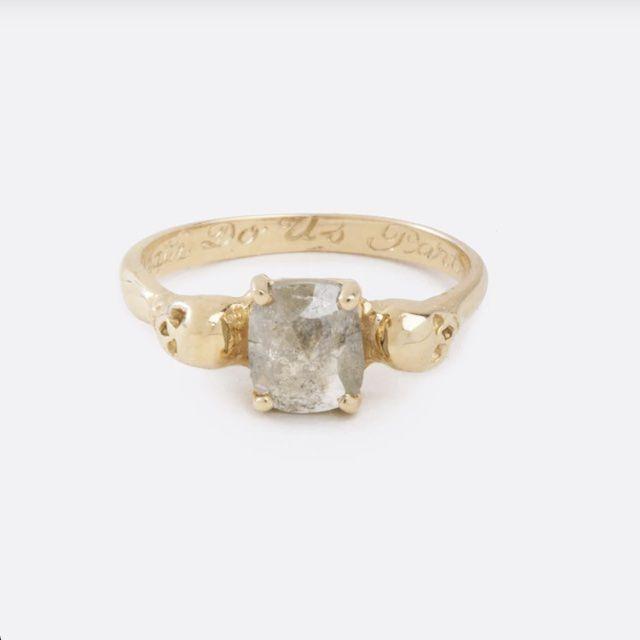 Love Adorned Till Death Do Us Part Diamond Engagement Ring