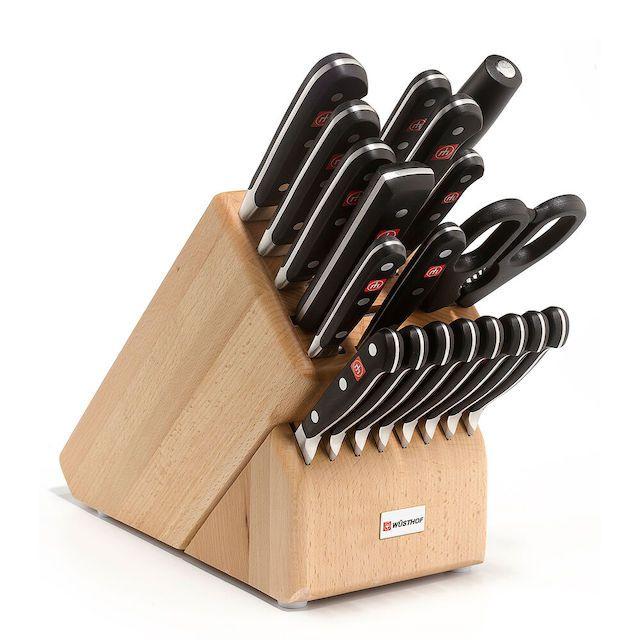 Wusthof Classic 20-Piece Knife Block Set