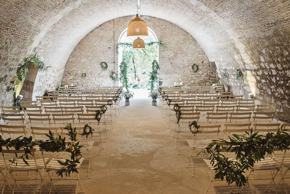 French elegance wedding ceremony