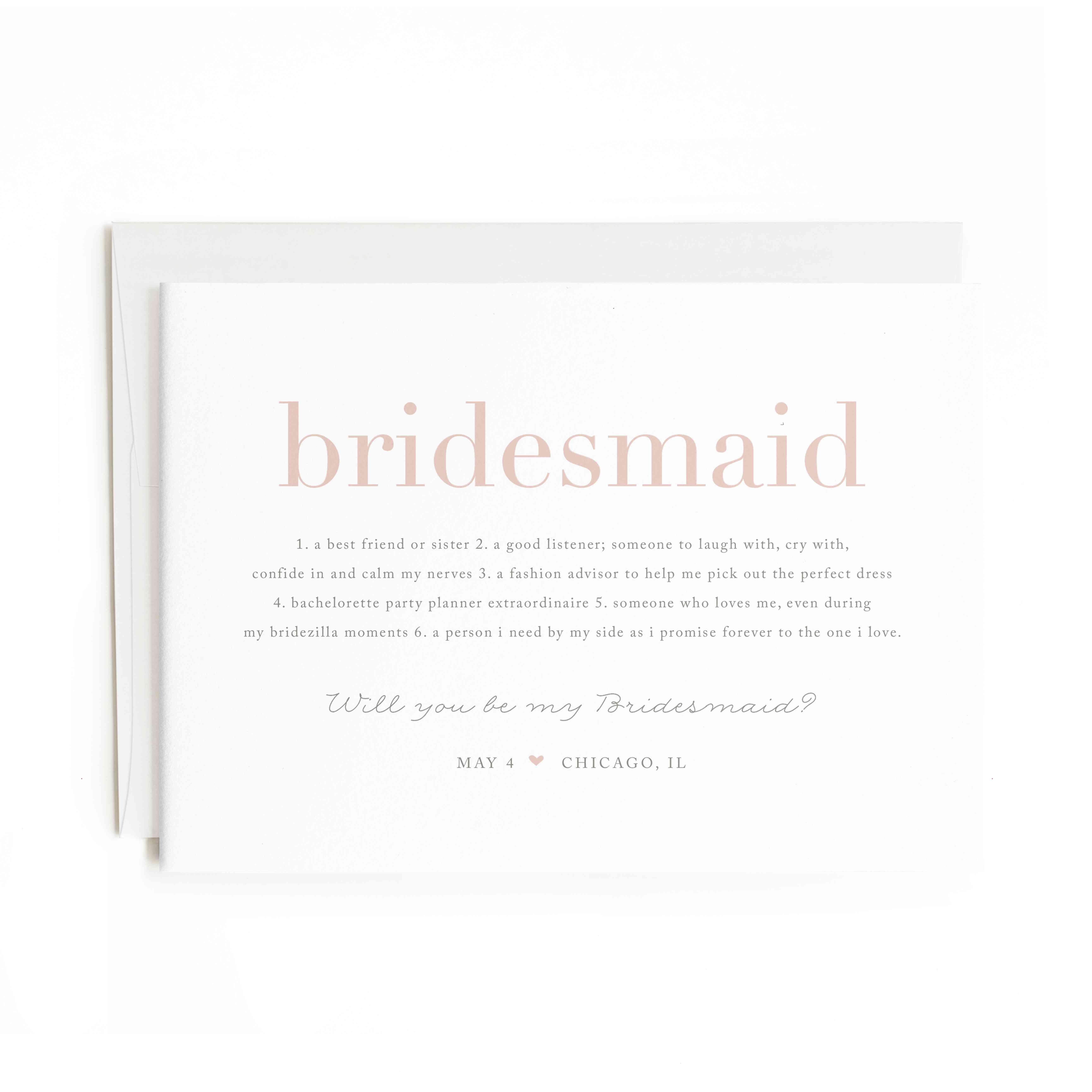 20 Bridesmaid Proposal Gifts That Guarantee a Hard