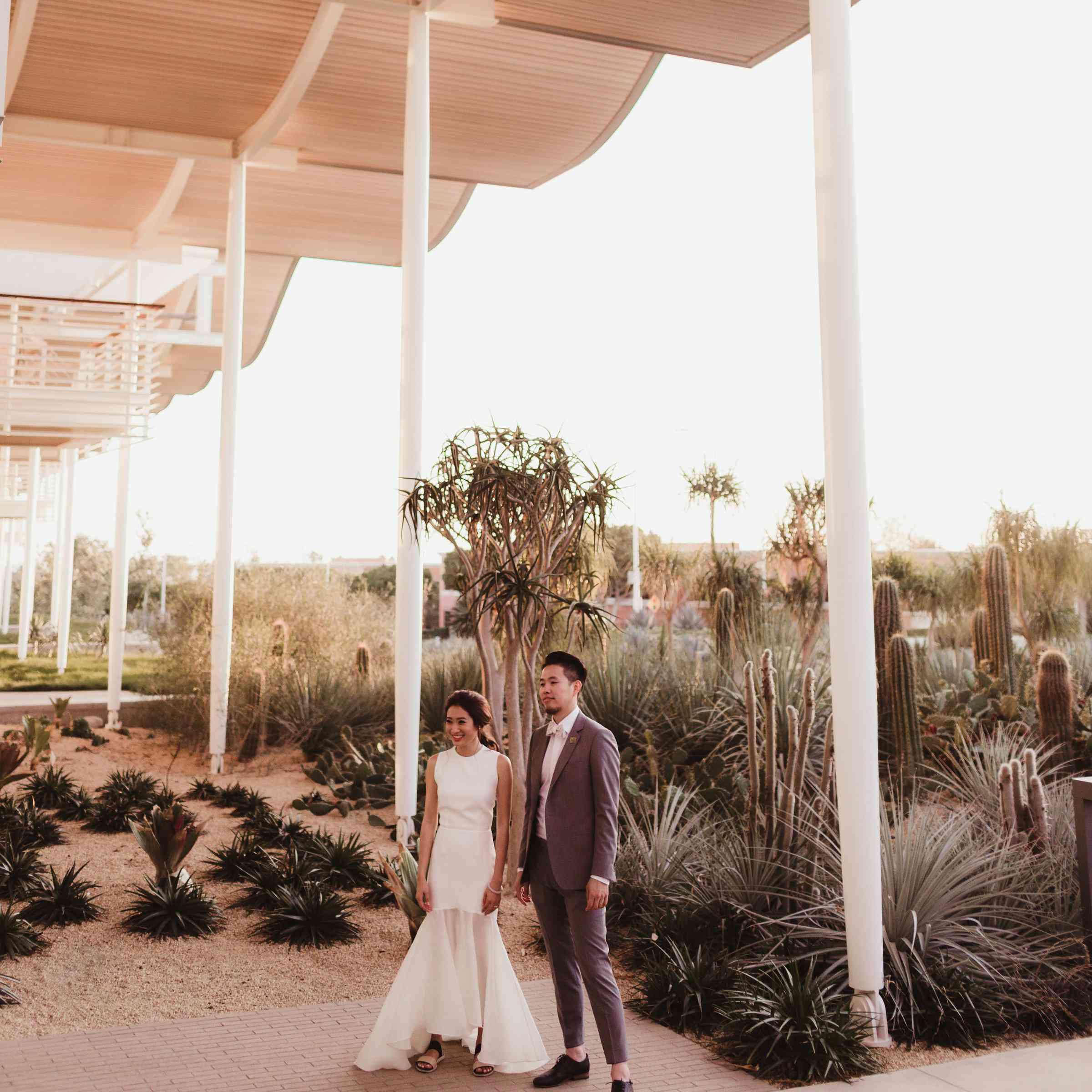 A Sleek Fashion Forward Wedding In Newport Beach