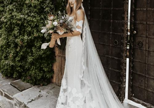 What Is a Mantilla Wedding Veil?