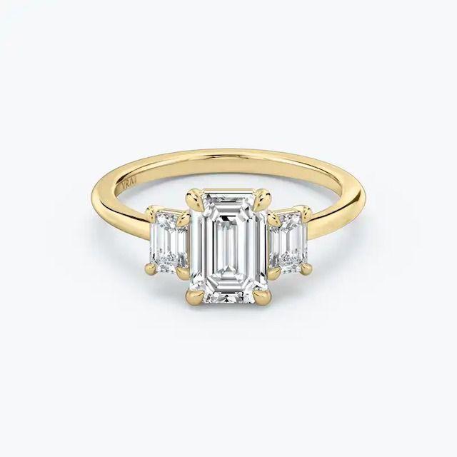 VRAI The Three Stone Engagement Ring