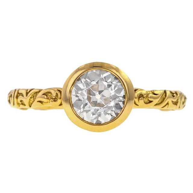Doyle & Doyle Solitaire Engagement Ring