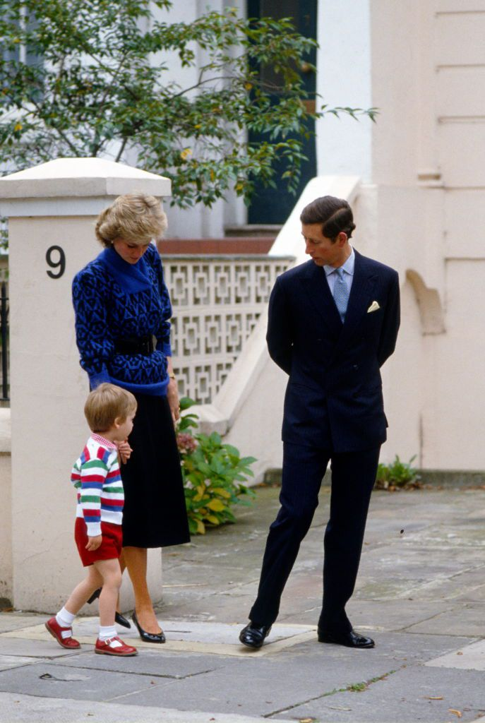 prince william's first day of school