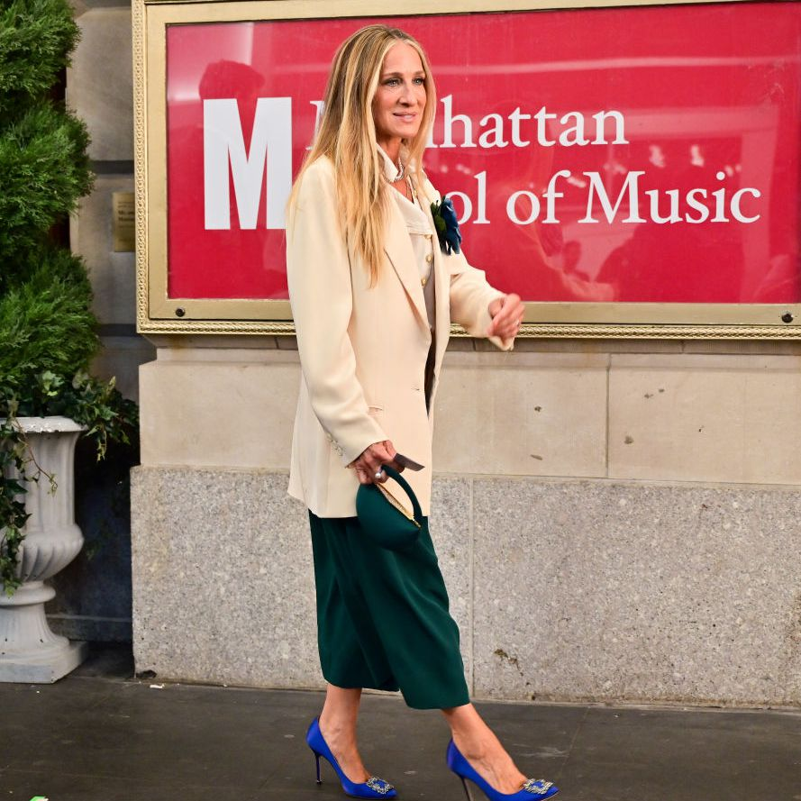 Sarah Jessica Parker as Carrie Bradshaw in HBO Max's And Just Like That...