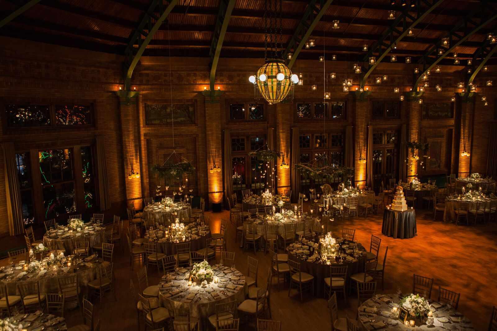 Wedding Reception Mood Lighting