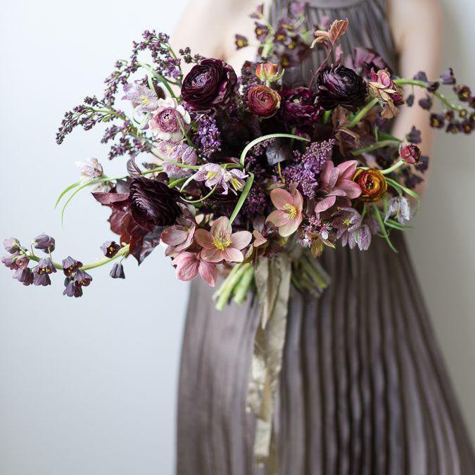 Fritillaria Wedding Bouquet