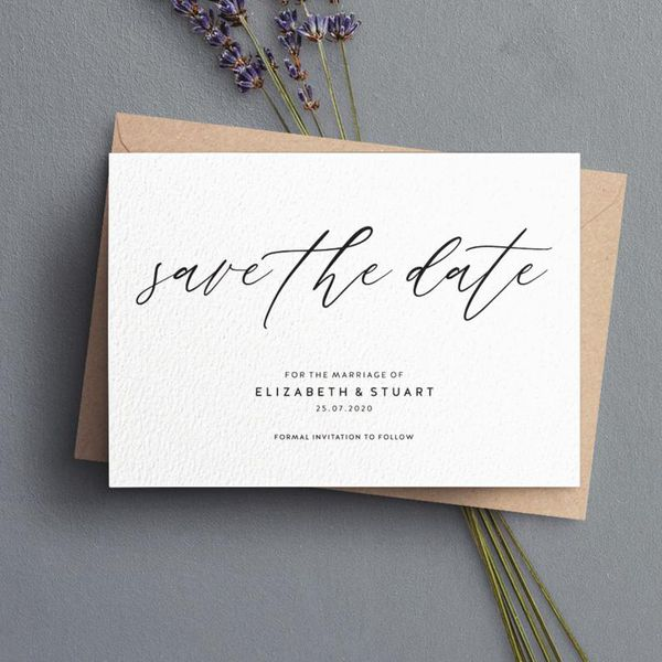 Send Save The Dates For Your Wedding