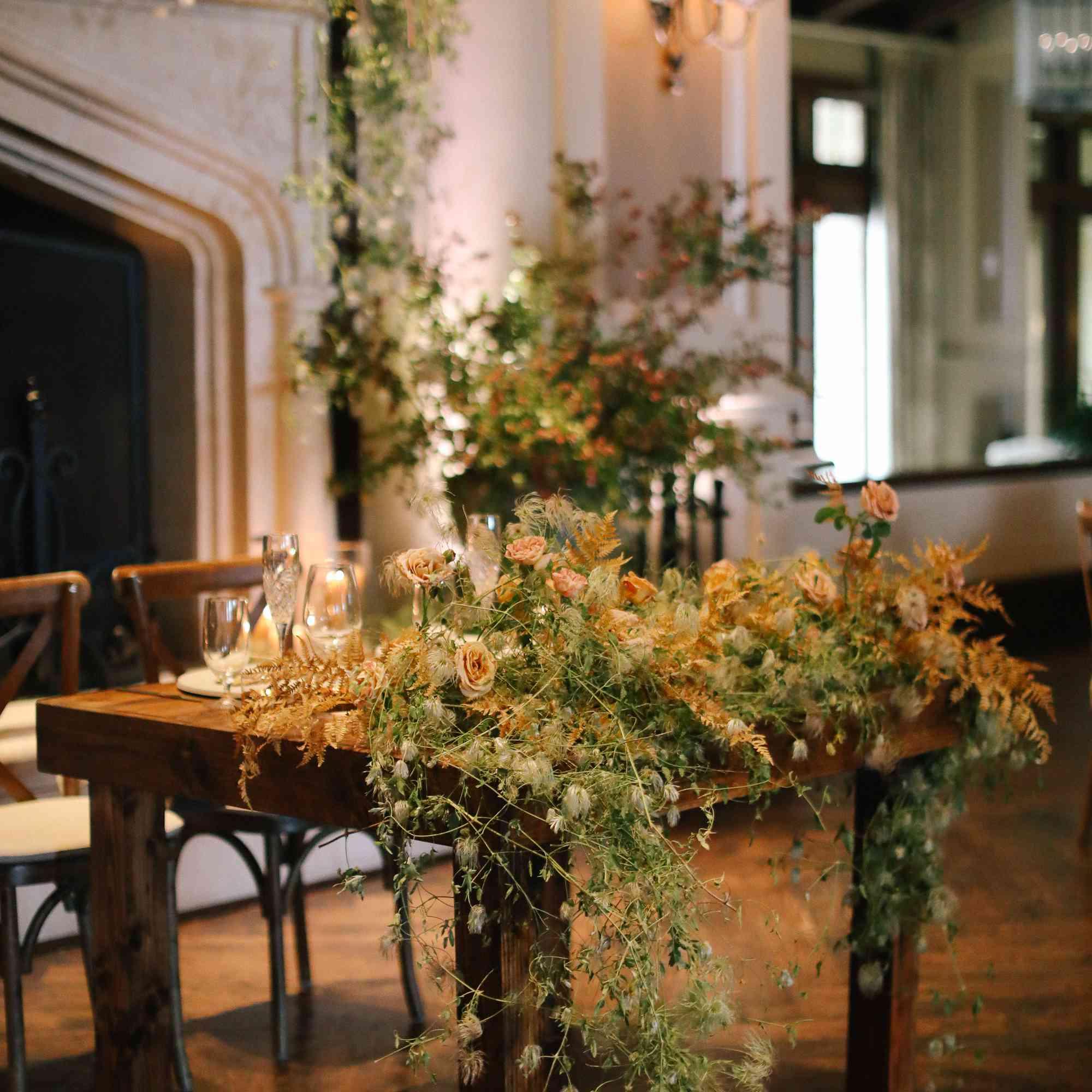 savannah and riker wedding, sweetheart table