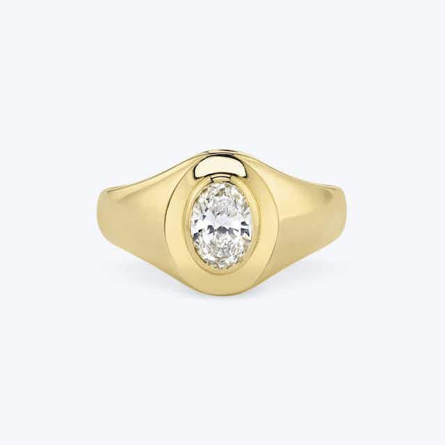 Vrai The Oval Signet Ring