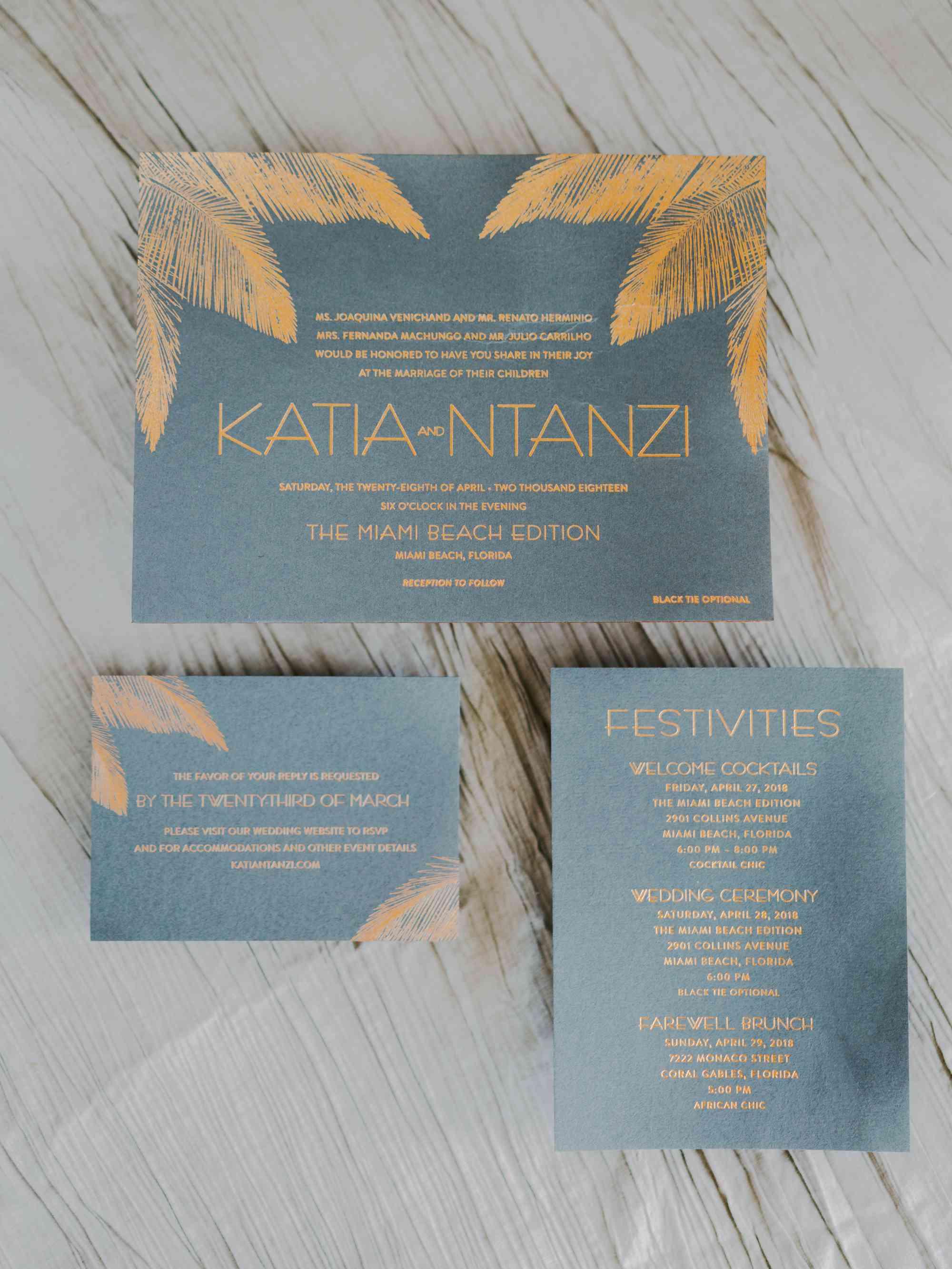 <p>wedding invitation suite</p>
