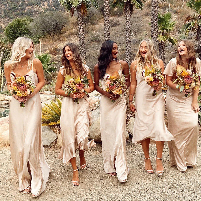 18 Best Gold Bridesmaid Dresses of 1821