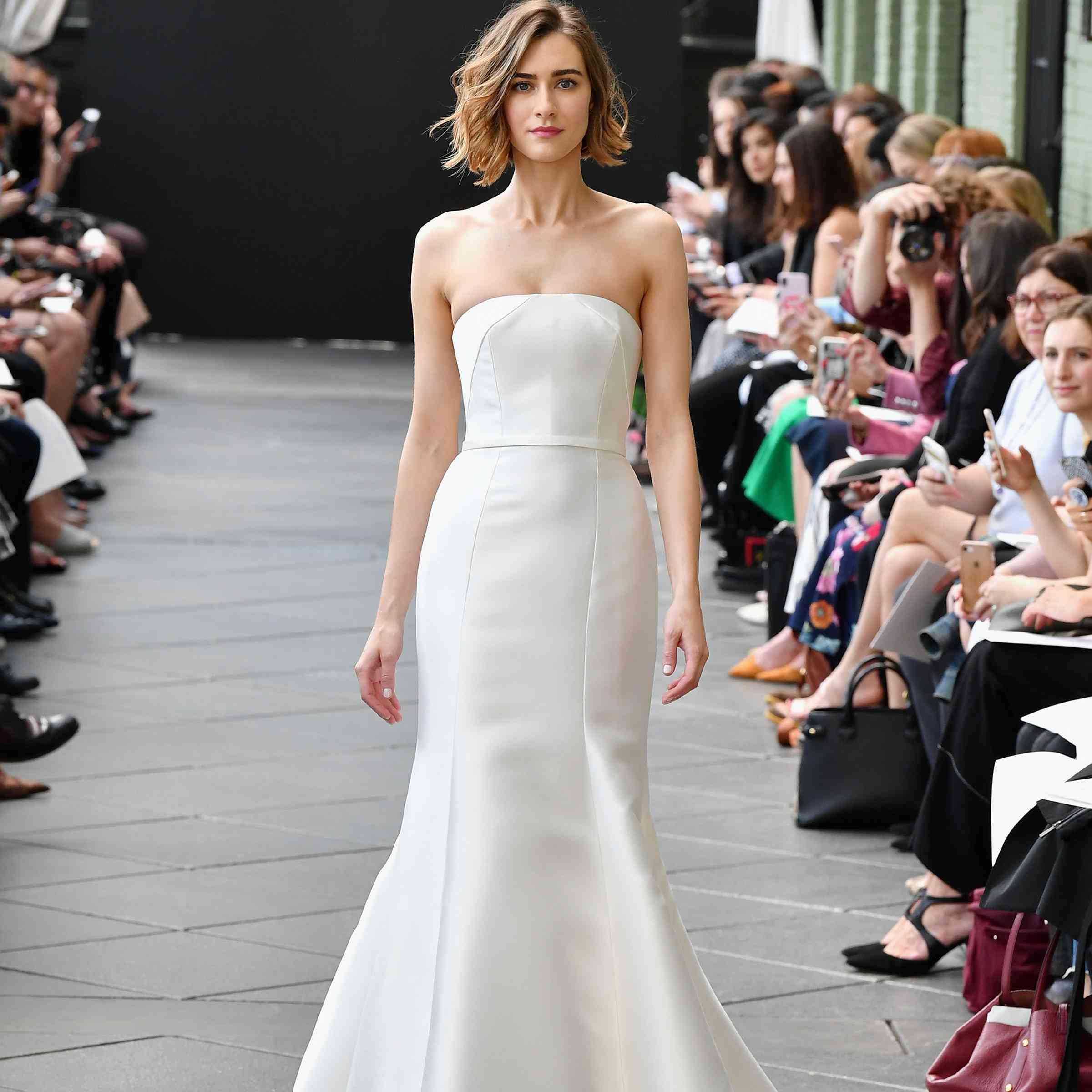 Gallery New Mira Zwillinger Wedding Dresses Spring 2019: Nouvelle Amsale Bridal Spring 2019