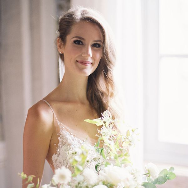 bride with thin hair