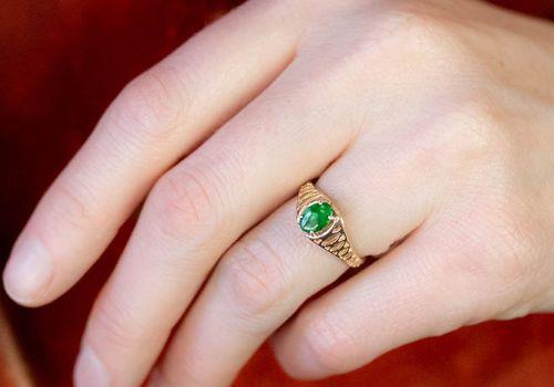 Jade Engagement Rings