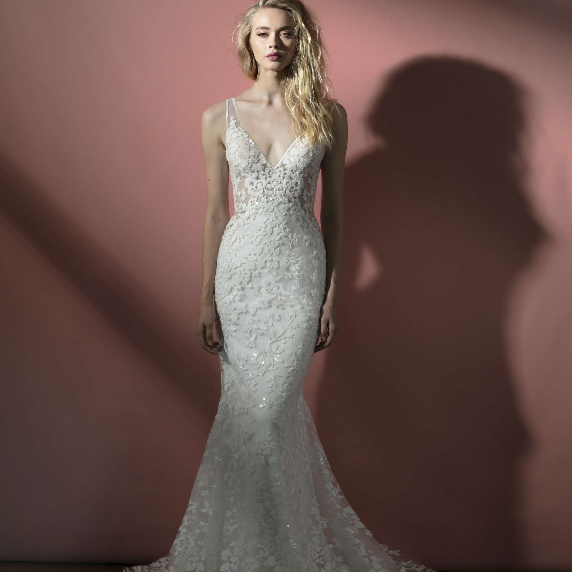 Wilder fit-and-flare wedding dress