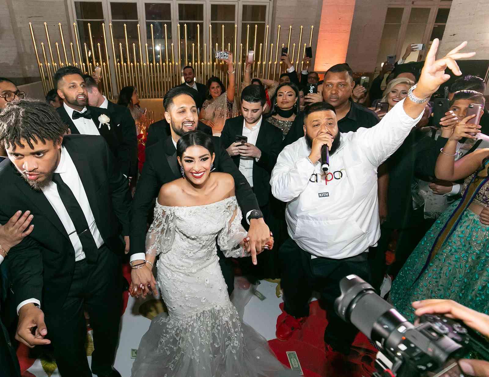 Reception party with DJ Khaled