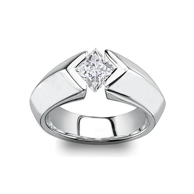 Laraci Princess Moissanite Ring