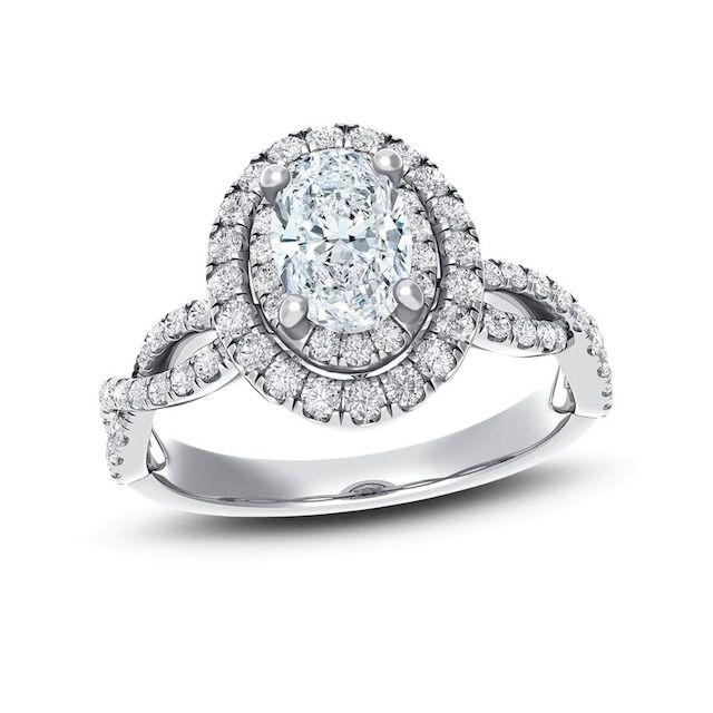 Royal Asscher Diamond Engagement Ring