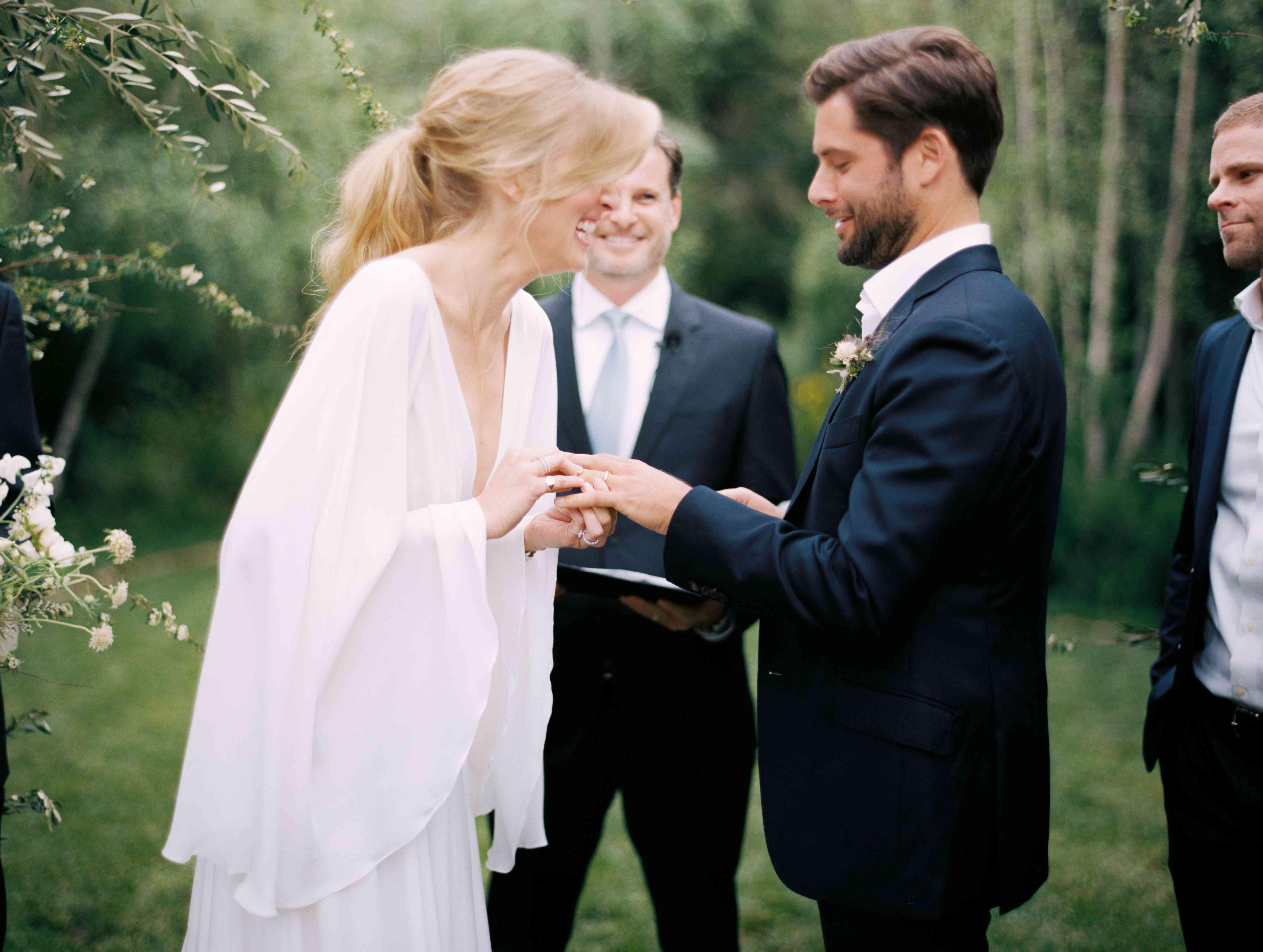 ceremony ring exchange