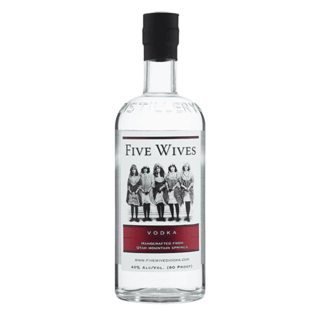 Ogden's Own Distillery Five Wives Vodka