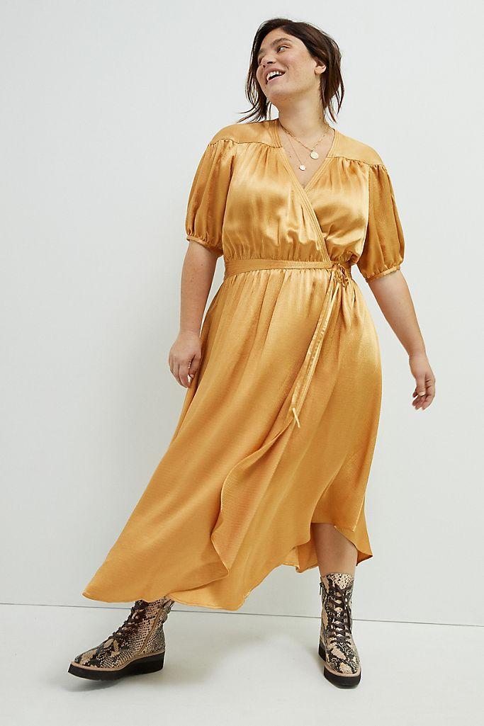 Maeve Katrina Midi Wrap Dress, $168