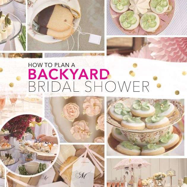 How To Throw A Fabulous Outdoor Bridal Shower On Budget