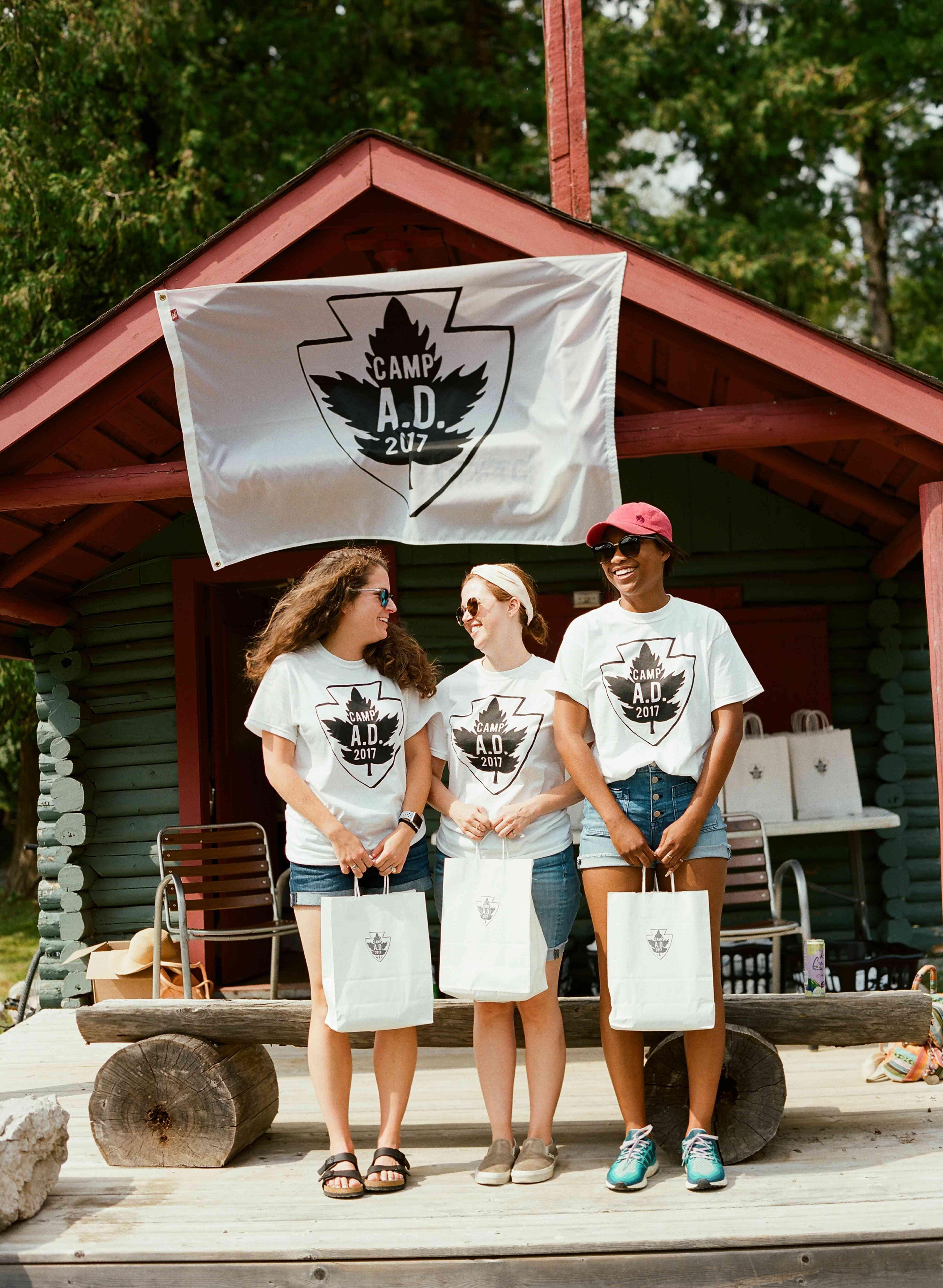 Camp goer guests
