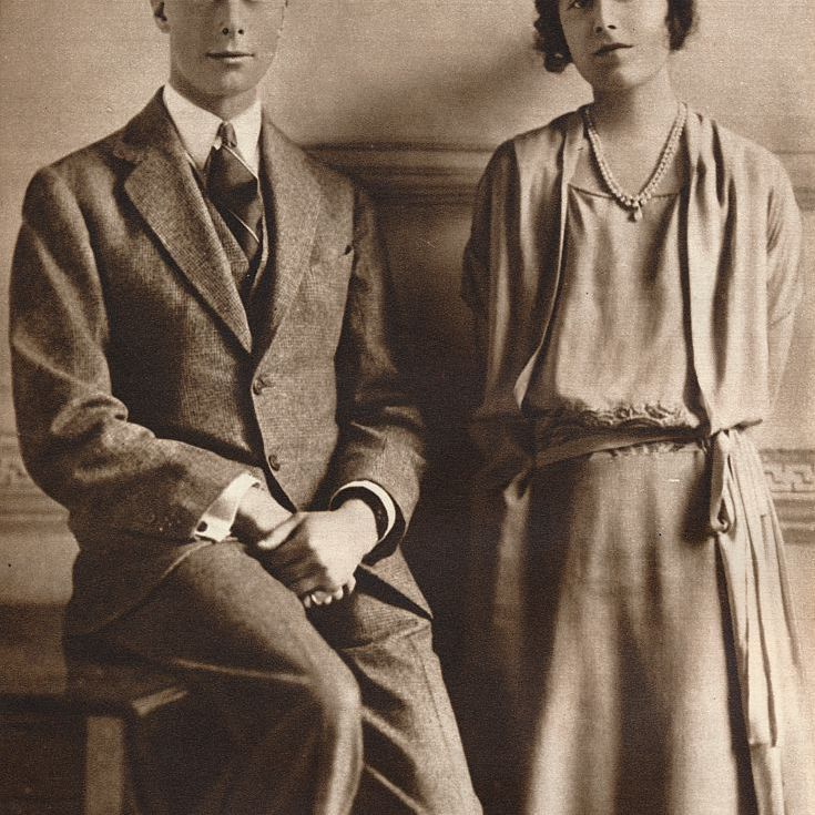 king george VI and elizabeth bowes-lyon