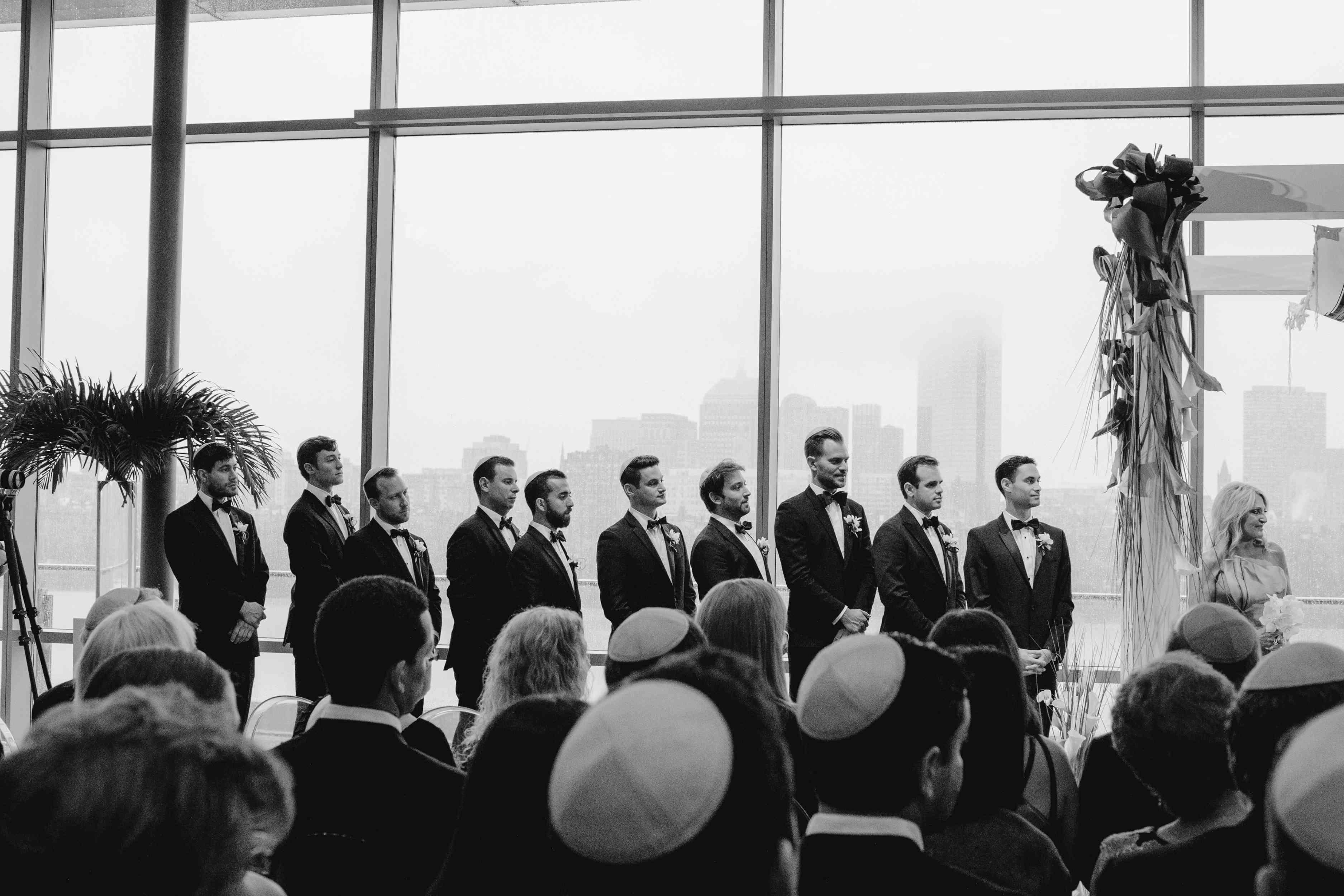 Groomsmen at the Altar
