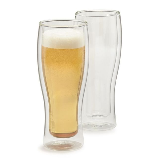 Zwilling J.A. Henckels Sorrento Double-Wall Beer Glasses
