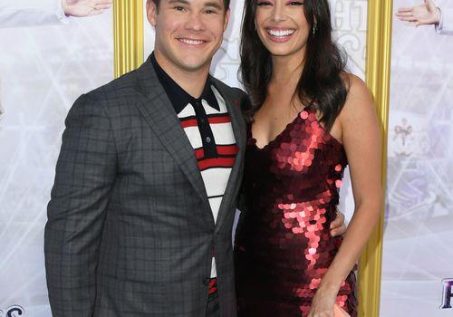 Adam Devine and Chloe Bridges