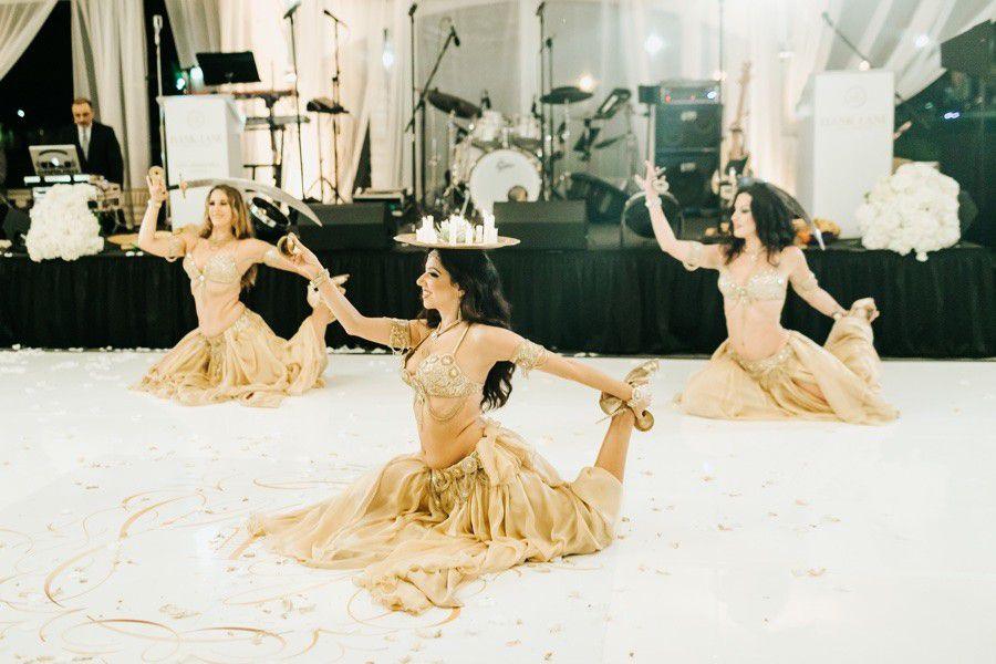 wedding entertainment belly dancers