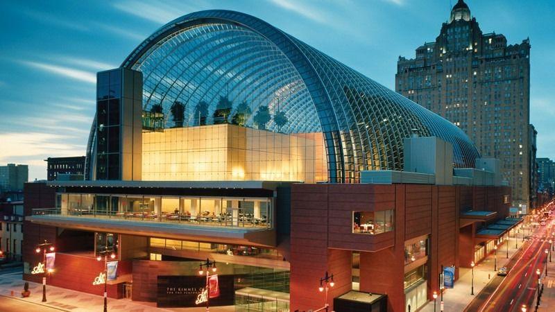 Kimmel Center for the Performing Arts in Philadelphia