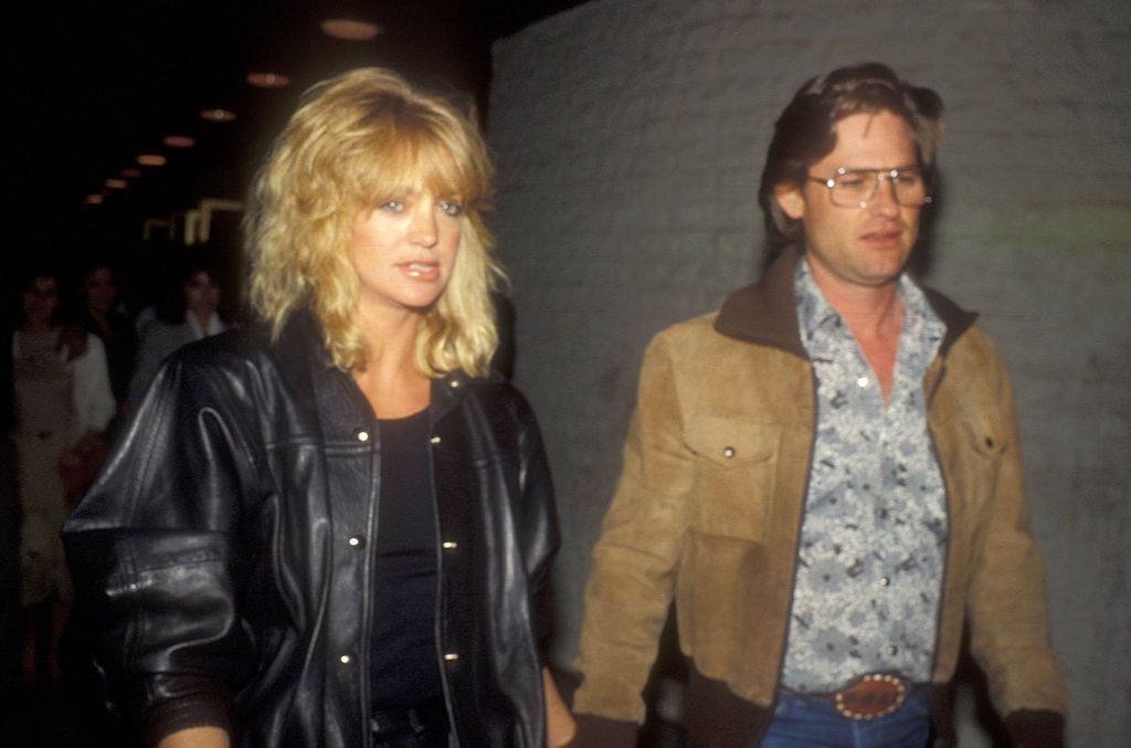 goldie hawn and kurt russell in 1984
