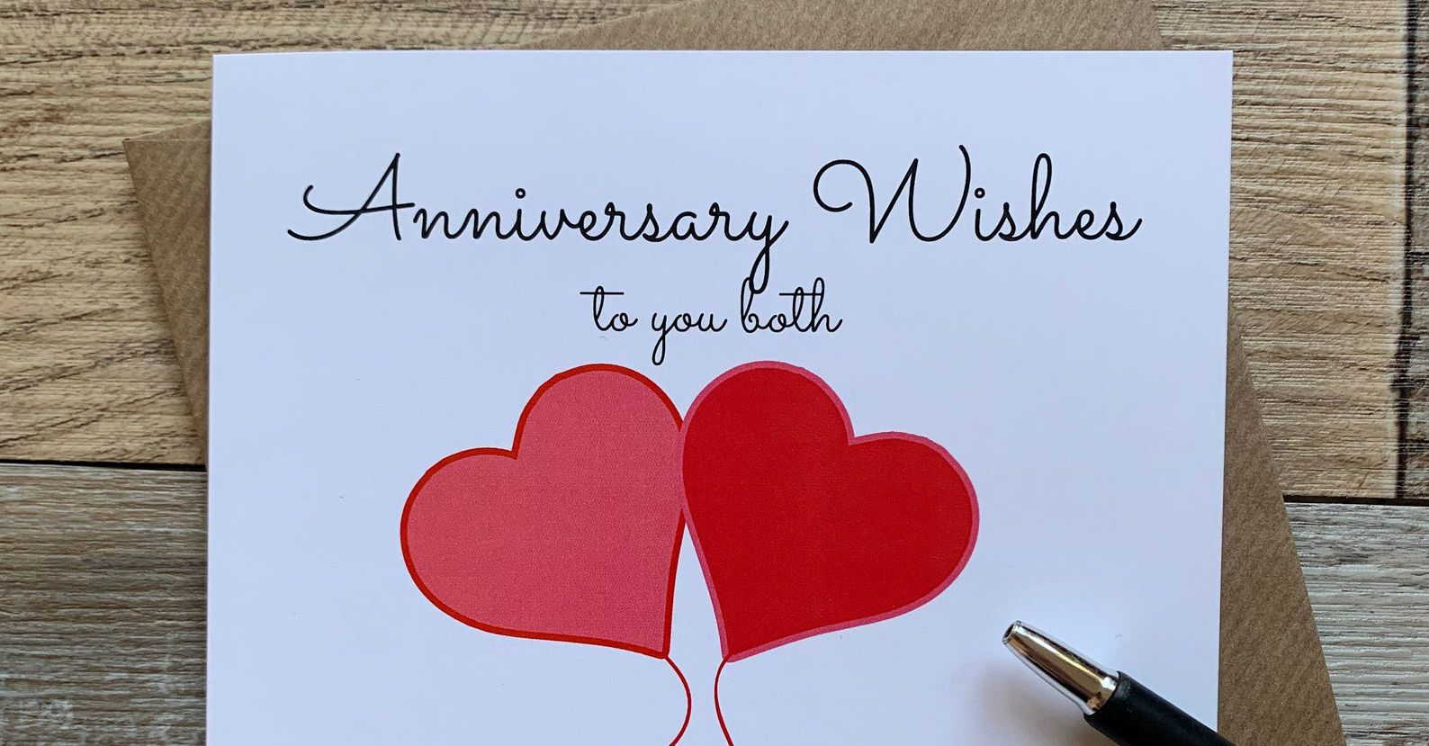Anniversary Wishes: What to Write in an Anniversary Card Inside Anniversary Card Template Word
