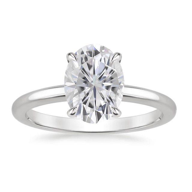 Brilliant Earth Moissanite Elodie Ring
