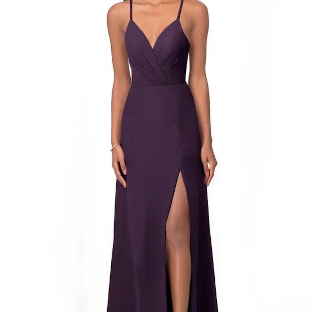 Azazie Everleigh V-Neck Dress