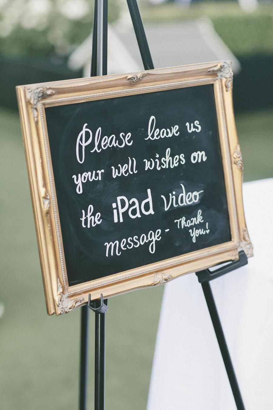 wedding entertainment video guest book