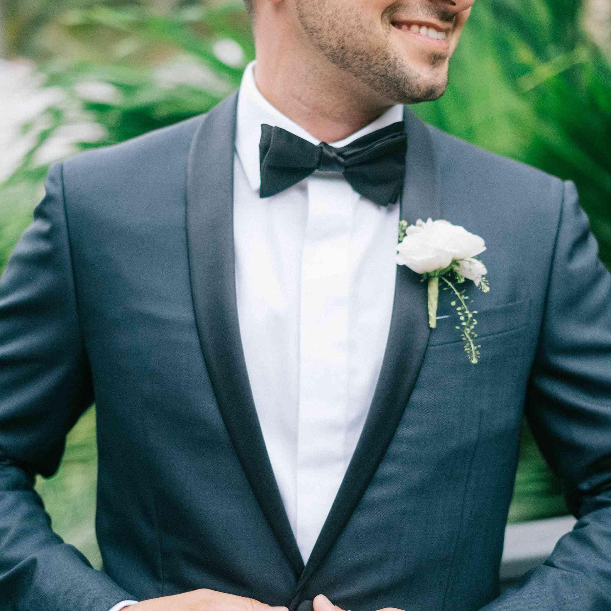 Shot of groom