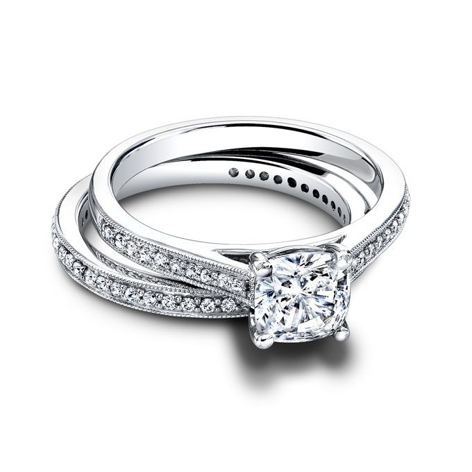 Get The Look Kim Kardashians Engagement Ring From Kanye West