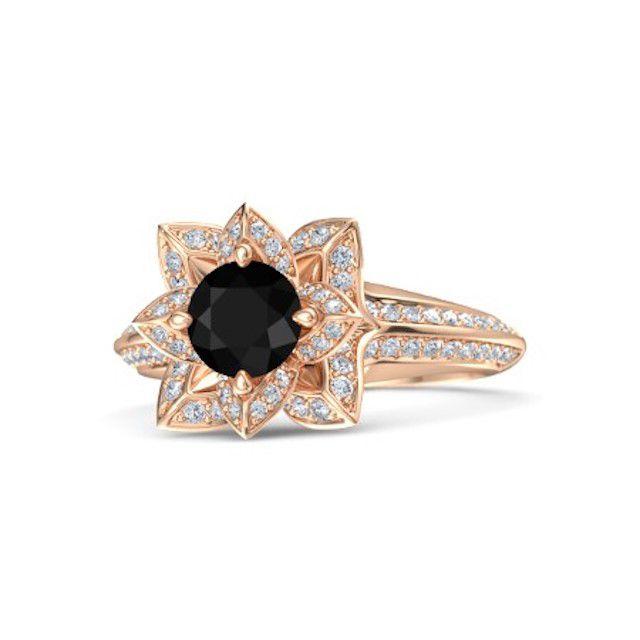 Brilliant Lotus Ring