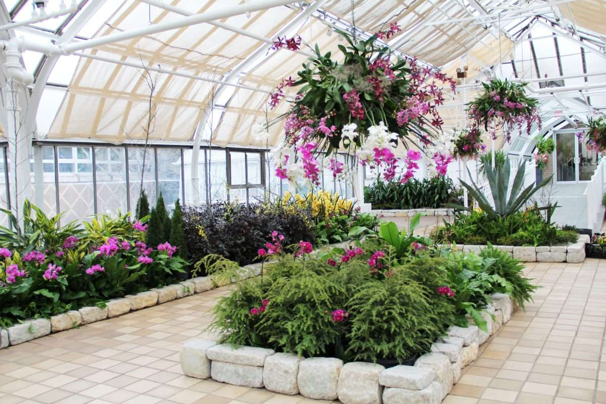 Franklin Park Conservatory in Columbus