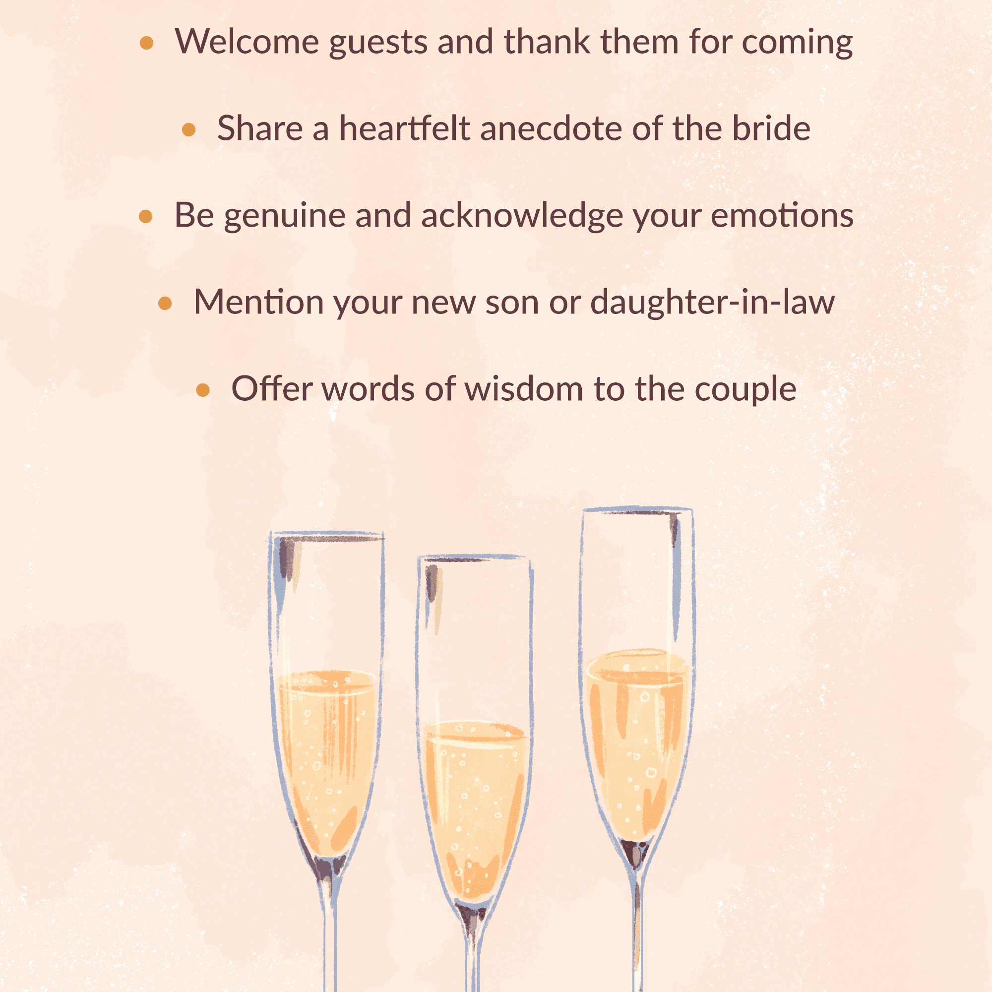 Father Of The Bride Wedding Toast Tips